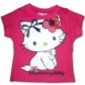 Charmmy Kitty tricou roz