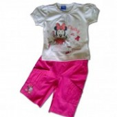 Minnie Mouse set bermude baby