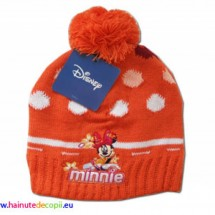 Caciula mot Minnie orange