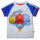 Chuggington tricou alb