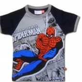 Spiderman tricou gri