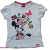 Minnie Mouse tricou alb